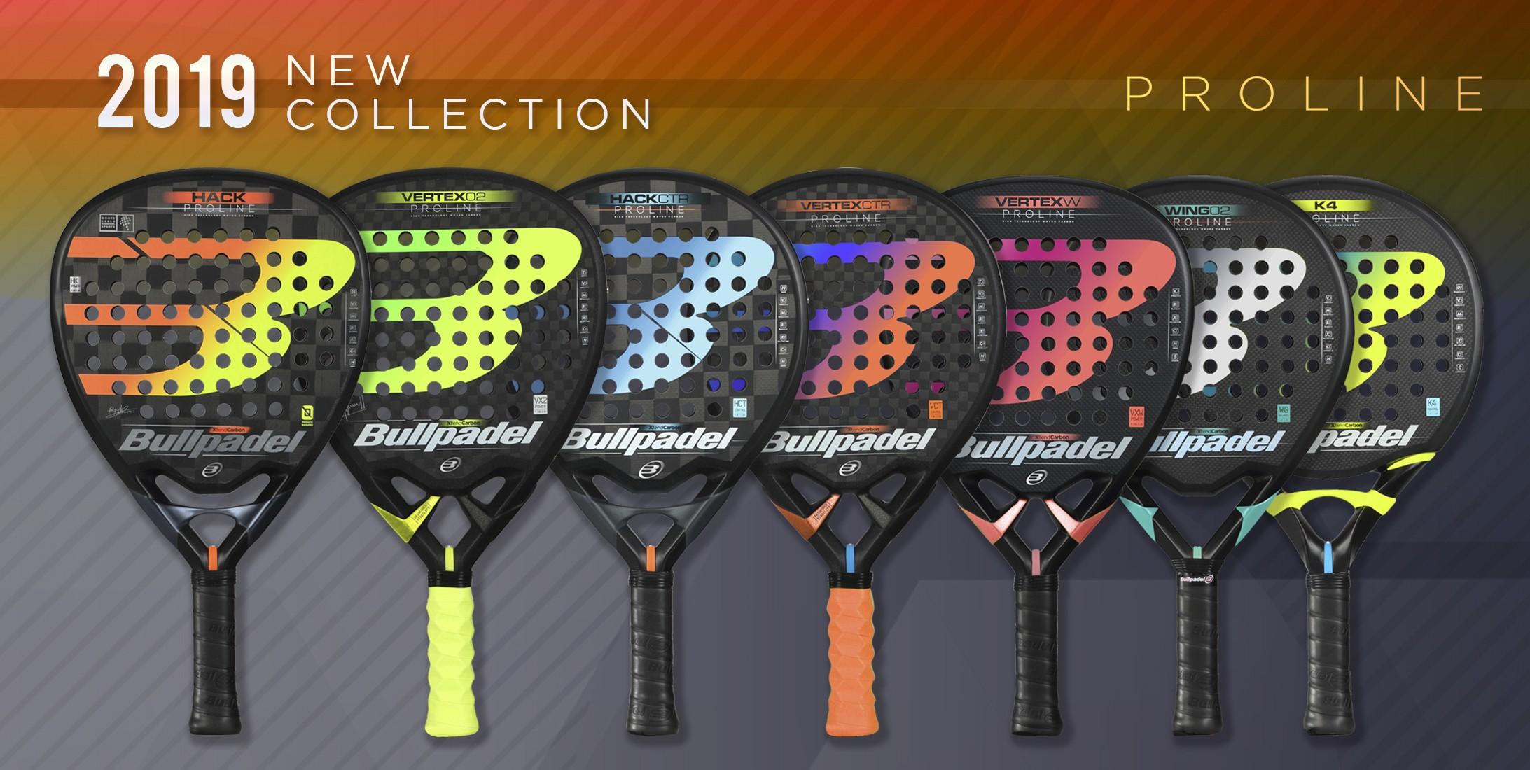 Nueva Colección Bullpadel Pro Line 2019
