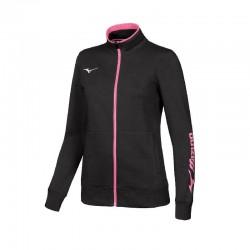 Team sweat fz jacket wos black/white