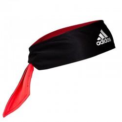Banda cabeza ten tieband rev black/shock red/white o