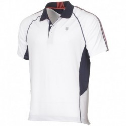 Polo heritage color white