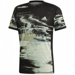 Camiseta ny printed color negro/verbri/narfla