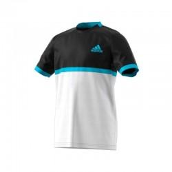 Camiseta b court black/white/samblu