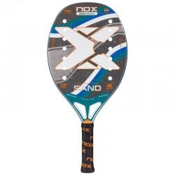 Raqueta de tenis de playa nox sand green