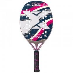 Raqueta de tenis de playa nox sand purple