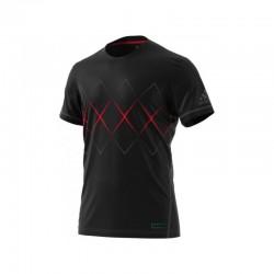 Camiseta bcade argyl black