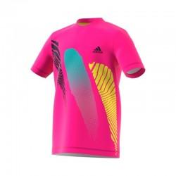 Camiseta b seasonal shock pink